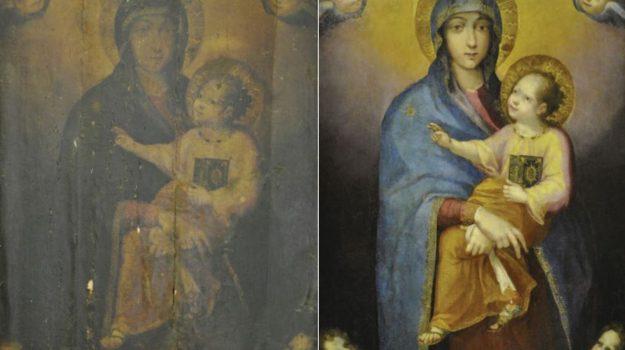 messina, tele restaurate, Messina, Cultura