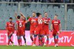 Il Napoli sa solo vincere: 2-1 a Firenze. Milan da urlo a Bergamo, Roma sul velluto