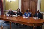 Demetrio Barreca, Giuseppe Falcomatà, Paolo Brunetti e Domenico Richichi
