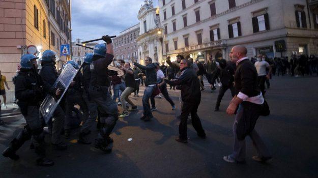 scontri no green pass cgil roma, Sicilia, Cronaca