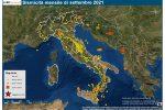 Terremoti, dal Veneto alla Sicilia: ecco la mappa della sismicità a settembre 2021 in Italia