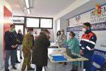 Un Vax Day al punto vaccinale presso il XII Reparto Mobile di Reggio Calabria