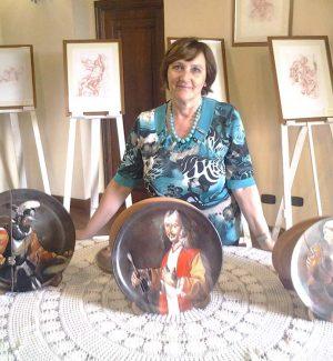 Wilma Pipicelli, pittrice di Monterosso Calabro, insignita dell'Oscar della Creatività